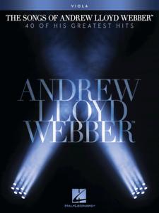 """""""les Chansons D'andrew Lloyd Webber"""" Music Book For Viola-neuf En Promotion Répertoire!!!-afficher Le Titre D'origine Avoir Un Style National Unique"""