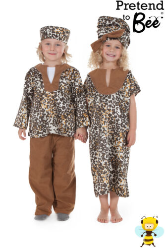 MAN MULTICULTURAL COSTUME AGE 3-5 CHILDRENS KIDS GIRLS BOYS AFRICAN LADY 5-7