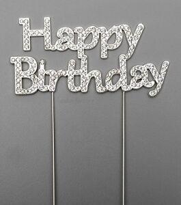 HAPPY-BIRTHDAY-CAKE-PICK-TOPPER-DECORATION-DIAMANTE-SPARKLY