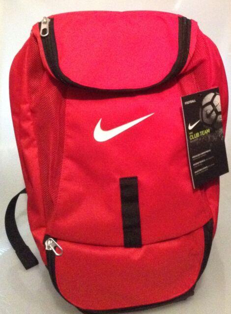 e63182f38882 Nike Club Team Red Bag Backpack Soccer Rucksack School Football ...
