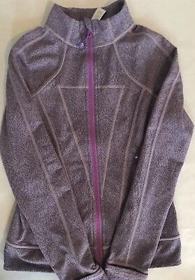 Ivivva 'Perfect your Practice Jacket' in Purple Size 10 | eBay