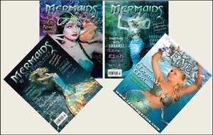 4 Mini /'MERMAID/' Magazines Barbie Blythe Fashion Doll size 1:6 playscale