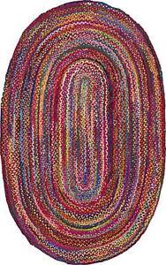 8X11-034-Natural-Braided-Oval-Chindi-Area-Rug-Hardwood-Floor-Mats-Woven-Fabric-Rugs