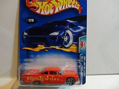 2003 Hot Wheels #179 Red 1959 Chevy Bel Air w/PR5 Spoke Wheels
