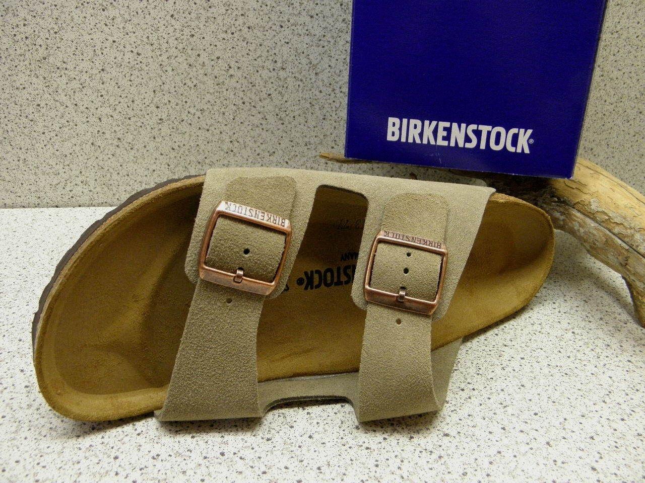 Birkenstock ® Top Preis SALE  Arizona taupe Leder  Nr. 51463 (Bi14)
