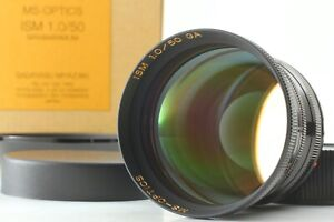【Brand New Black Paint】 MS-Optical ISM 50mm f/1.0 F. MC Leica M From Japan 19364