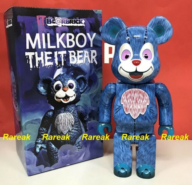 Medicom Be@rbrick 2017 Milkboy The IT Bear 400/% Joker Pennywise Bearbrick 1pc