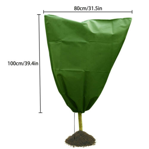 3pcs Warm Cover Tree Shrub Plant Protect Bag Frost Protection Yard Garden Winter