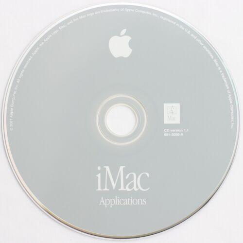 Apple iMac G3 'Applications' Games Companion Disc Z691-3098-A