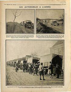 Bataille-de-la-Marne-Convoi-Camions-Trucks-Automobiles-Soldats-Poilus-1915-WWI