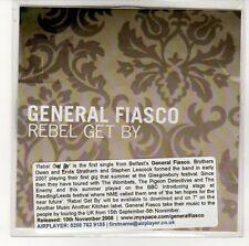 (EN785) General Fiasco, Rebel Get By - 2008 DJ CD