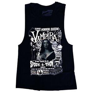 Kreepsville 666 Goth Horror Vampira Womens Sleeveless Tank Top T Shirt Size XXL