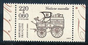 STAMP-TIMBRE-FRANCE-NEUF-N-2526-JOURNEE-DU-TIMBRE-VOITURE-DE-CARNET