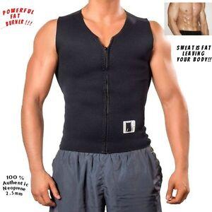 Men Belly Slimming Belt Corset Sport USA Neoprene 2.5 mm Vest Sauna Sweat Shaper