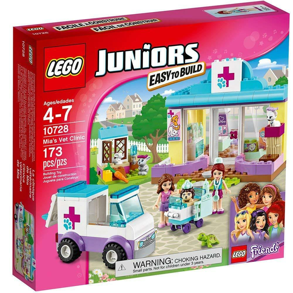LEGO 10728 Juniors Friends - PET CLINIC - New & Sealed
