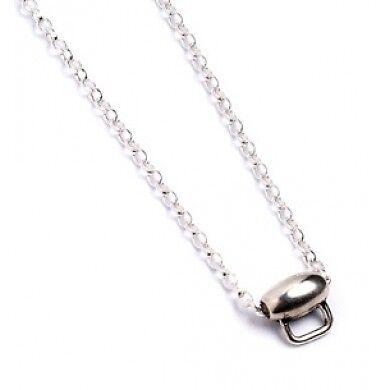 Harry Potter Sterling silver Charm Halskette Official Licensed 40cm Neu