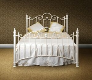 Florence Shabby Chic Single Bed 9 Inch Deep Quality Matt Ebay