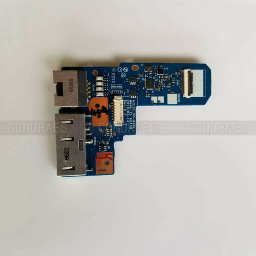 New For Thinkpad Edge E440 E431 Lan RJ45 DC-IN Jack Port NS-A151 Power Board
