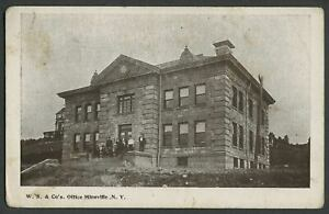 Mineville-NY-c-1905-06-Postcard-W-S-WITHERBEE-SHERMAN-amp-CO-039-S-OFFICE-Mining