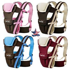 Newborn-Baby-Carrier-Sling-Wrap-Backpack-Front-Back-Chest-Ergonomic-4-Position