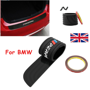 35-4-034-90cm-Black-Rubber-Car-Rear-Bumper-Trim-Guard-Protector-Sticker-For-BMW
