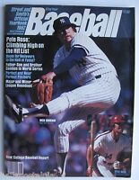 """1982 """"Street and Smith's Baseball Yearbook"""" Magazine: Rich Gossage, NY Yankees"""
