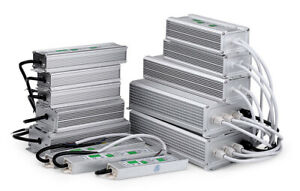 AC230V -DC12V LED Alimentation Étanche Transformateur Pour Ruban LED Bande Strip