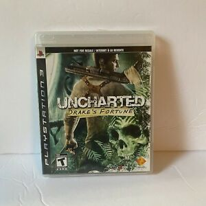 Uncharted-Drake-039-s-Fortune-2007-Video-Game-Sony-PlayStation-3