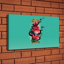 "12/""x20/""Snake and Diamonds on Hand Home Decor HD Canvas Print Wall Art Painting"