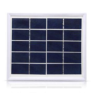Pannello-Solare-5V-4W-800mA-con-Porta-USB-Caricabatterie-per-Cellulari-Pompa