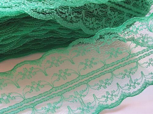 Noël Artisanat DECS-Wedding-Bridal-Gâteau Style Vintage Lace Ribbon Trim 1M Bow