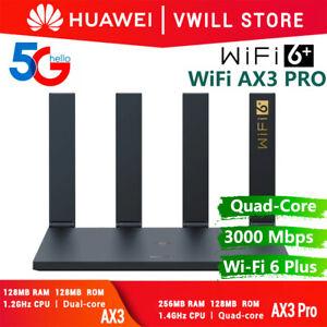 HUAWEI WiFi Router WiFi 6 Plus Dualband 3000Mbit/s 5G 256 MB VPN WiFi Timer