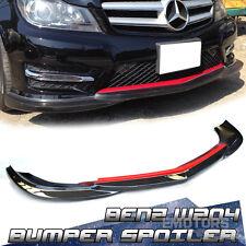 """SHIP FROM LA"" Carbon Mercedes BENZ W204 Bumper Front Lip Spoiler Godhand LCI 13"