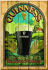 Guinness-Taste-of-Ireland-wooden-sign-300mm-x-200mm-x-10mm-sg-MULTI-BUY-OFFER
