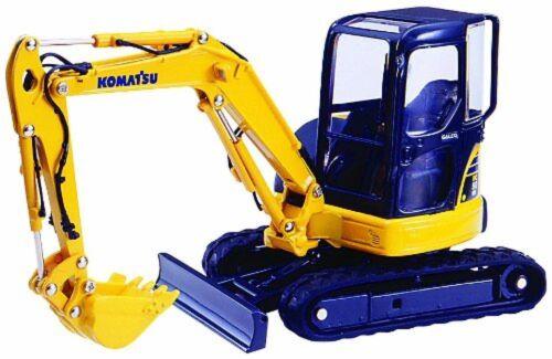 Agatsuma Diamond pet DK-6104 1//32 Komatsu mini excavator PC50MR Gareo