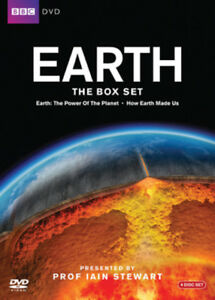 Earth-The-Complete-Series-DVD-2010-Iain-Stewart-cert-E-4-discs-NEW