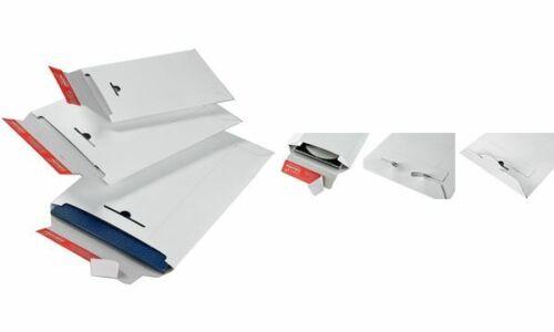 aus weißer Vollpappe DIN A4 #20xColomPac Versandtasche
