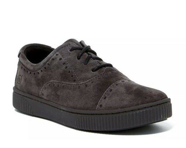 Born Cymbal Women's Dark Brown Suede Sneaker Sz 9.5M 1073