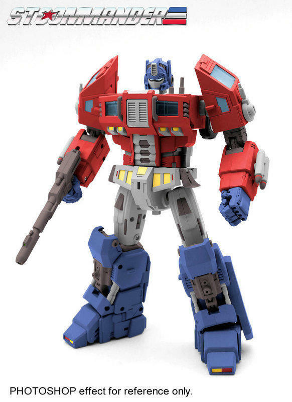 [Toys Hero] In Hand TFC Supreme Tactical Commander Optimus Prime STC-01B G1 Ver.
