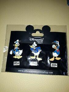 6-Pins-Trading-Disneyland-Paris-Disney-Donald-Duck-Pin-Set-NEU