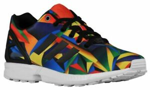 low cost b81bf 200c3 Details about uk size 8.5 - adidas originals zx flux torsion trainers -  multi - s81651