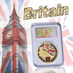 War II 1944 UK custom coin collection
