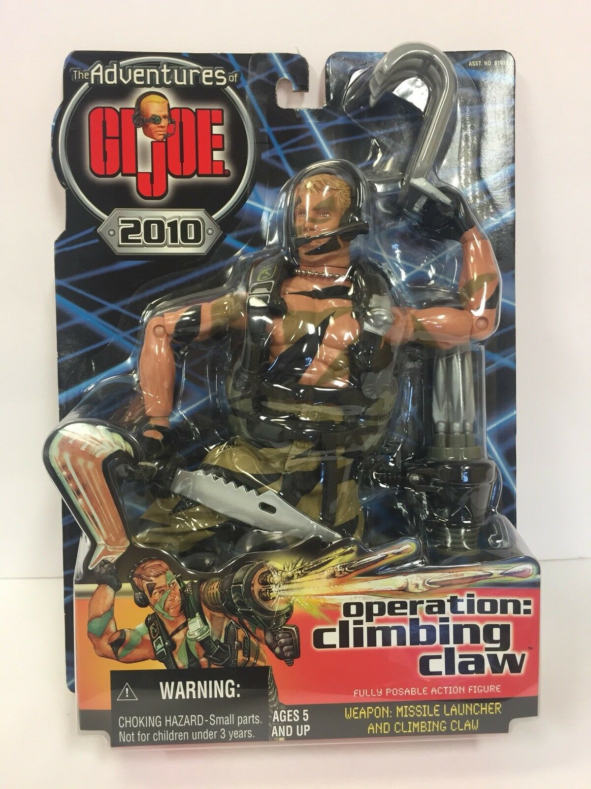 Hasbro 12  The Adventures of GI JOE operation  climbing claw 2000 (6GI181)