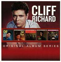 CLIFF RICHARD ORIGINAL ALBUM SERIES 5CD ALBUM SET
