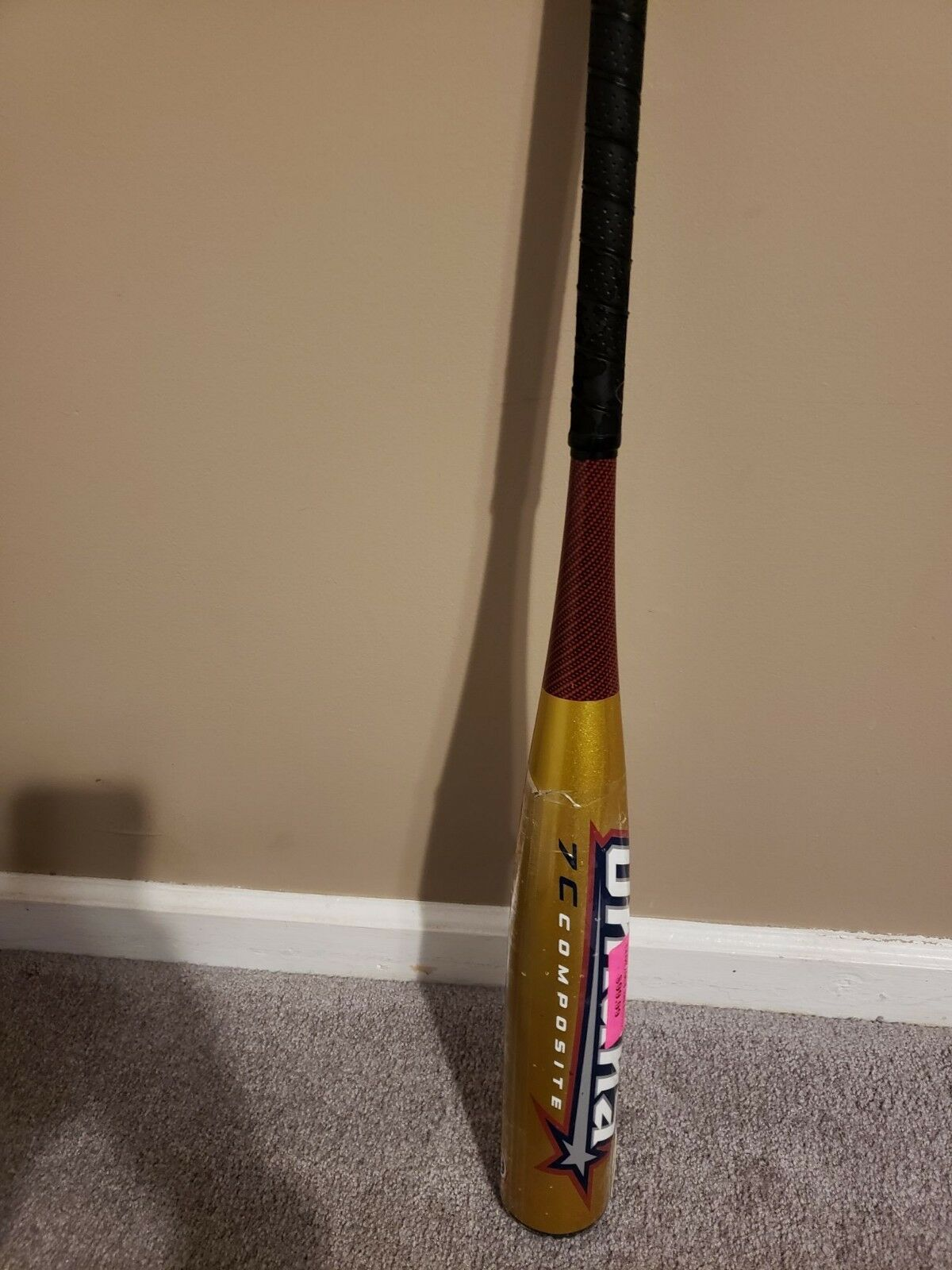 Louisville Omaha Senior League Bat SLS4 32  24oz. Drop 8 New W  Warranty