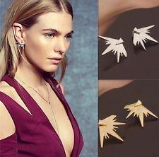 Gold Anthropologie Boho Chic Geometric Ear Jackets Earrings New