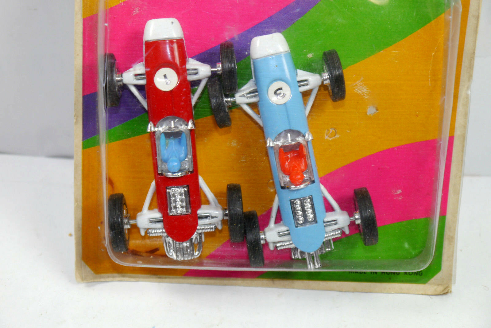 RACING CAR SERIES 2er 2er 2er Set Rennwagen Metall Autos ( Made in Hong Kong ) (K91) c7d48b