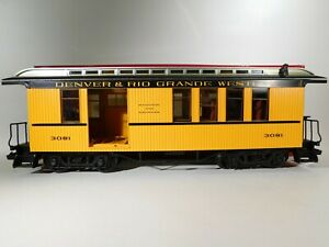 LGB-G-Scale-D-amp-RGW-Passenger-Car-w-Luggage-Compartment-3081-C-161