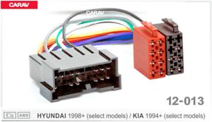 ISO-DIN-Kabel-Adapter-Stecker-passend-fuer-Hyundai-GETZ-MATRIX-1999-2005