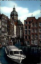AMSTERDAM Holland 1956 Kleines Boot Gracht Motiv Schiff 5 Cent Briefmarke